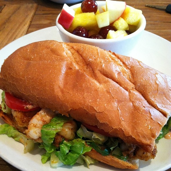 BBQ Shrimp Poboy - Table 24, Orinda, CA