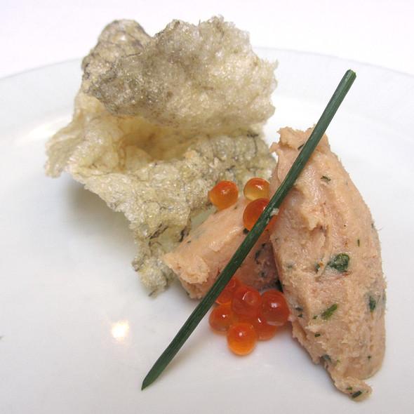 salmon rillette @ Campanile Restaurant
