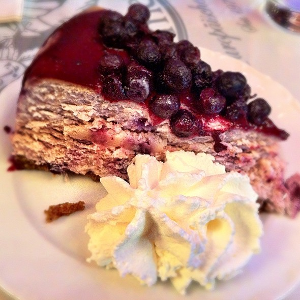 Blueberry Cheesecake @ Cafe Intermezzo