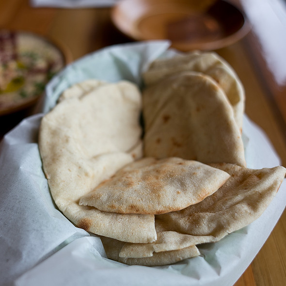 Homemade Pita @ Marrakesh
