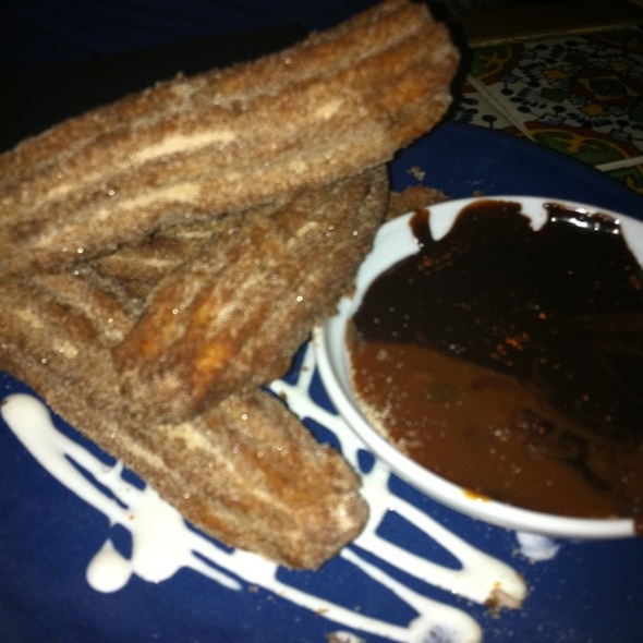 Churros & Dark Chocolate @ Mayahuel