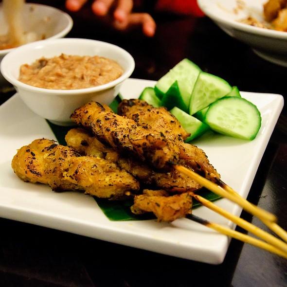 Chicken satay @ Jackie M Malaysian Cuisine