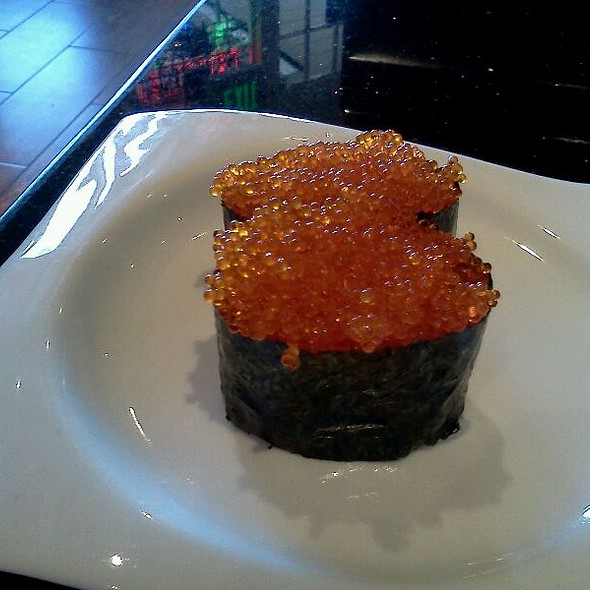 Tobiko Nigiri Otoro Sushi Menu - Sco...