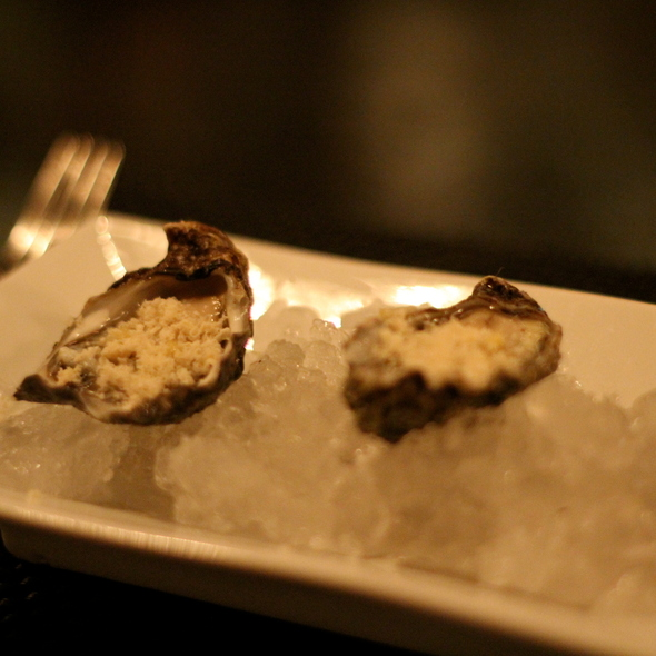 Kumamoto oysters @ Restaurant Eugene