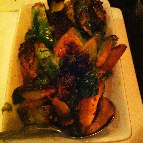 Honey And Chili Roasted Brussels Sprouts @ Russell House Tavern
