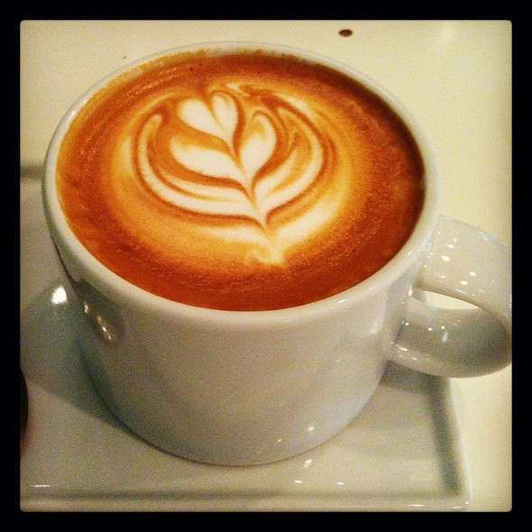 Latte @ Arbuz Cafe