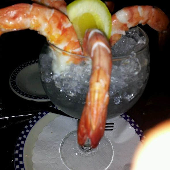 Jumbo shrimp cocktail - Le Bateau Ivre, New York, NY