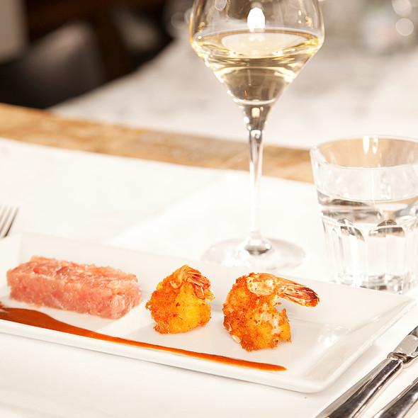 Yellowfin Tuna Tartare @ Restaurant De Basiliek B.V.