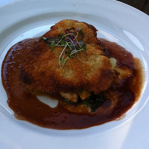 Panko Crusted Free Range Veal Cutlet - Bridges Restaurant, Danville, CA