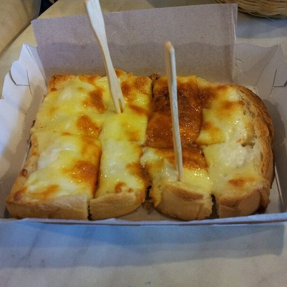 Roti Bakar Cheese @ Roti Bakar Kopitiam, Plaza Ivory