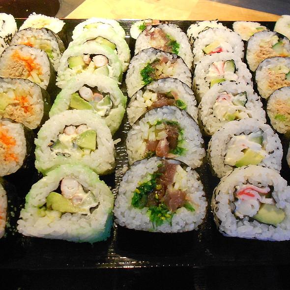 Sushi @ me-nu-thuis.nl