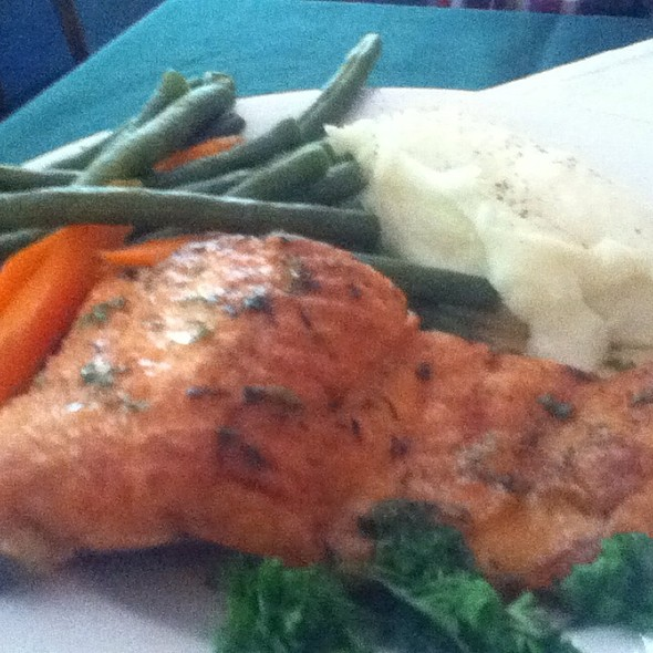 Steelhead River Trout @ Crumpet's Restaurant & Bakery