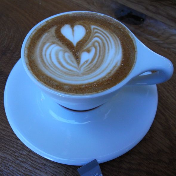 Cappuccino @ Intelligentsia Coffee & Tea