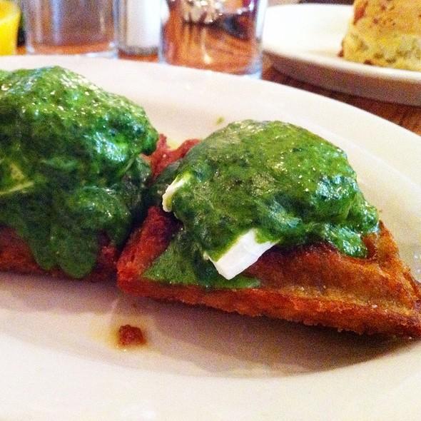 Potato Waffle Benedict @ The Smith Restaurant
