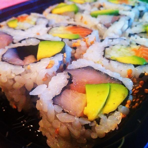 Yellowtail Avocado Roll @ Asuka Japanese Fusion And Lounge