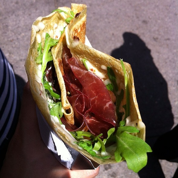 Bresaola Beef And Parmigiano Crepe @ Bar Suzette