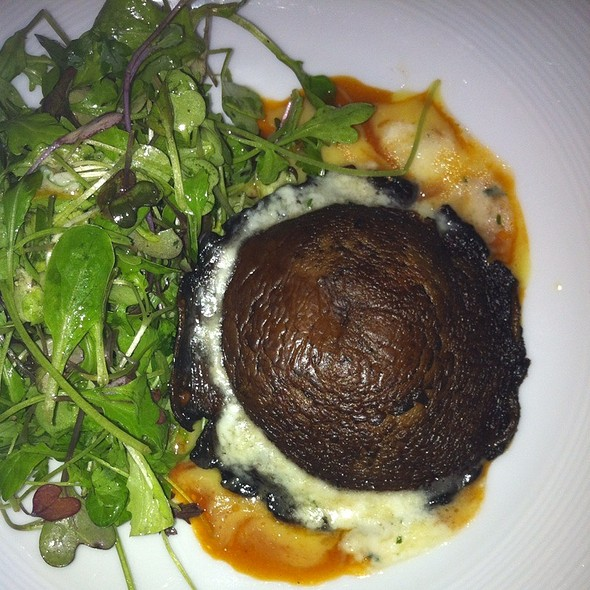 Portabello Mushroom With Goat Cheese And Field Greens - John J Jeffries at the Lancaster Arts Hotel, Lancaster, PA
