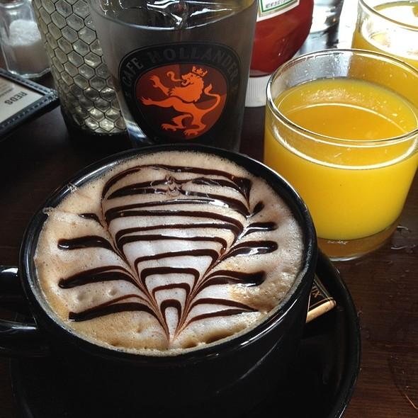 Cafe Mocha @ Cafe Hollander