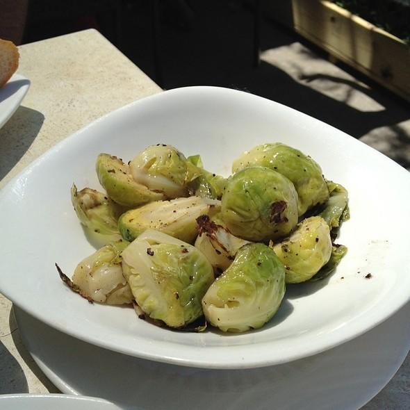 Roasted brussels sprouts @ Riverview Restaurant & Lounge