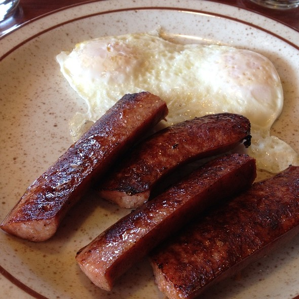 Eggs And Reindeer Sausage