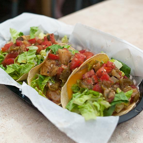 BBQ Shrimp Tacos @ Yacht Basin Eatery