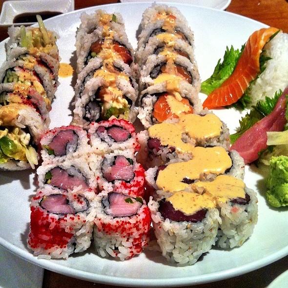 Sushi Rolls & Sashimi @ Yama