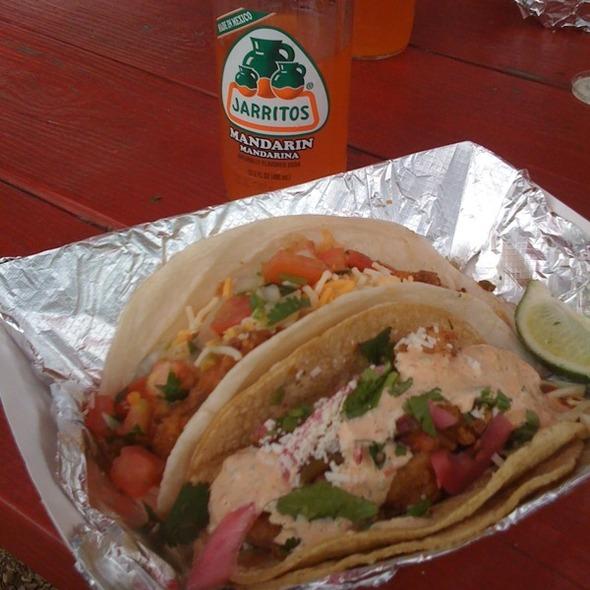 Baja Shrimp & Trailer Park Tacos @ Torchy's Tacos