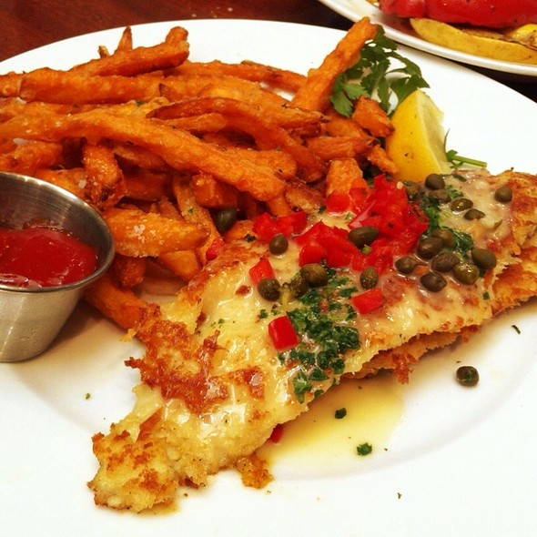 Dover Sole With Sweet Potato Fries - Enterprise Fish Co. - Santa Monica, Santa Monica, CA