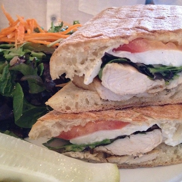chicken panini - The Madison Bar and Grill, Hoboken, NJ