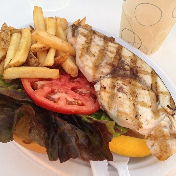 Grilled Swordfish Sandwich