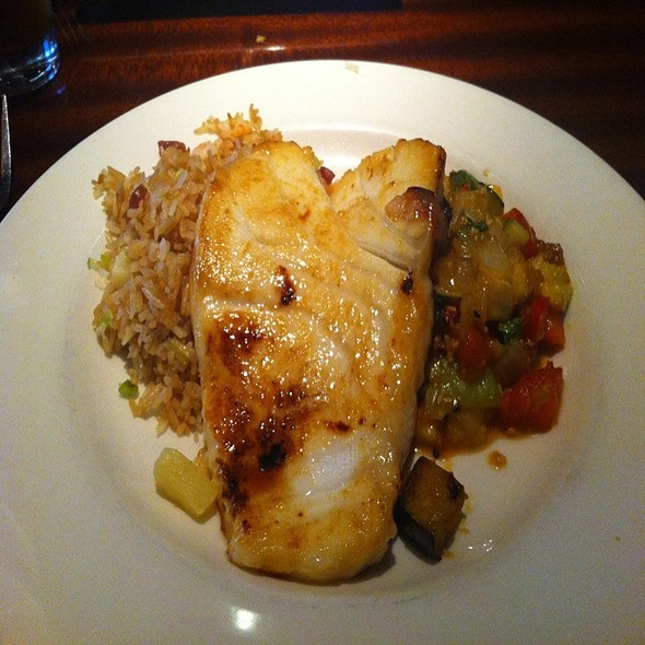 Miso-sake Marinated Sea Bass - Kona Grill - Tampa, Tampa, FL