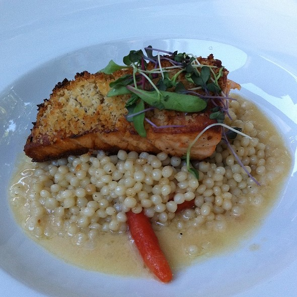 Horseradish Crusted Atlantic Salmon - Bridges Restaurant, Danville, CA