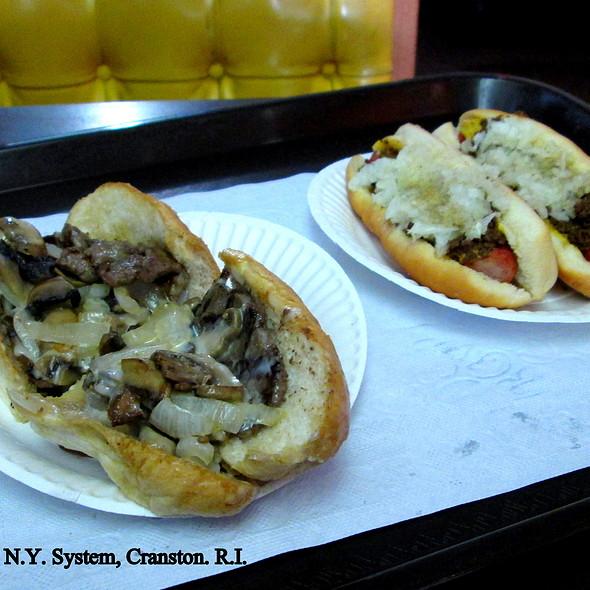 Delmonico Steak Sandwich @ Olneyville N.Y. System