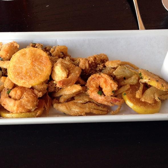 Crispy Shrimp Ipswitch Clams - The Liberty Tavern, Arlington, VA
