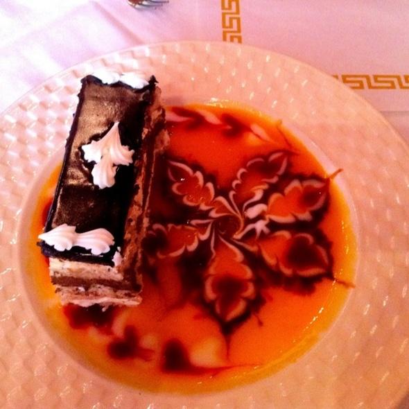 7-Layer Almond Cake @ Thai L'Elephant