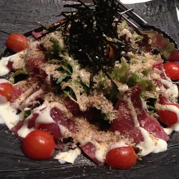 Tuna Carpaccio @ Jurin Japanese Restaurant