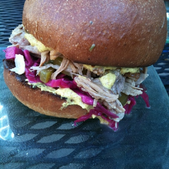 Roast Pork Sandwich @ Bakeshop