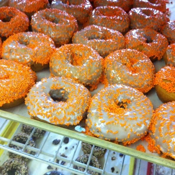 Pumpkin Doughnut @ Circle S Farm