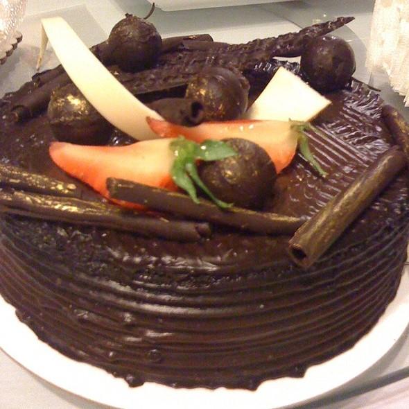 Chocolate Cake @ Manila Hotel