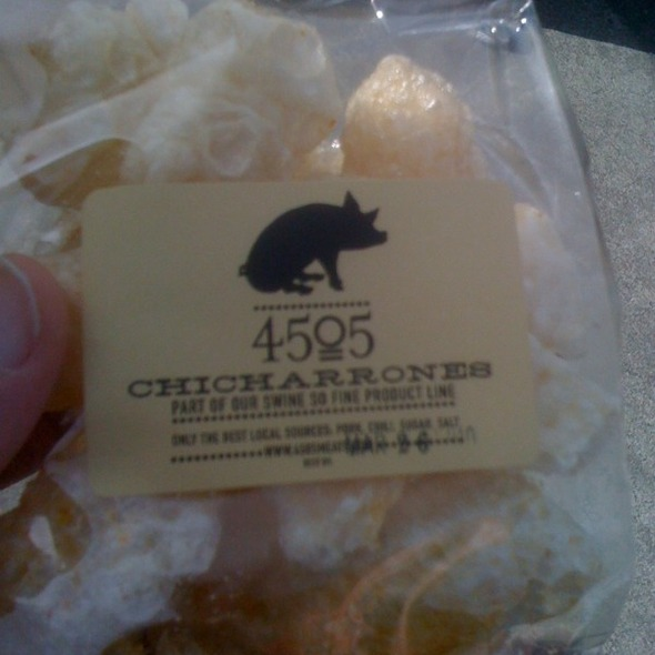 Chicharrons @ 4505 Meats (Ferry Building Thursday & Saturday Market)
