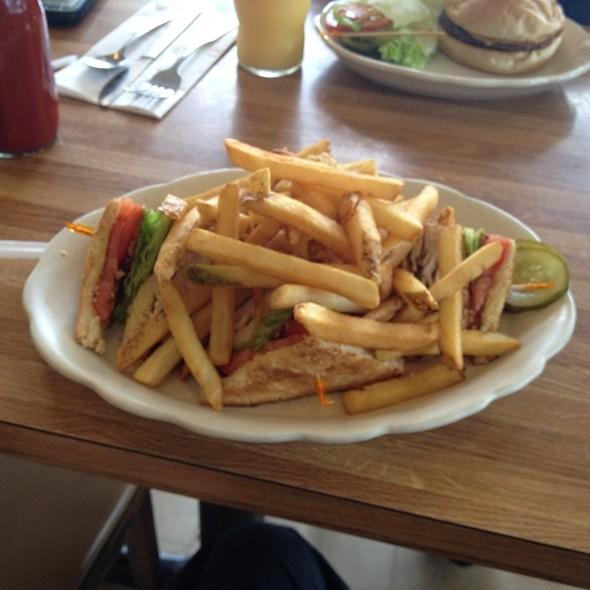 Turkey Club Sandwich @ Carleen's