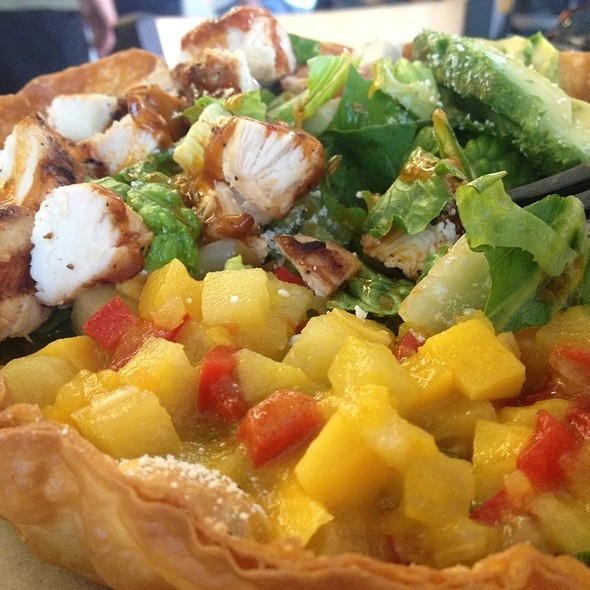 Mango Chipotle Chicken Salad @ Baja Fresh Mexican Grill