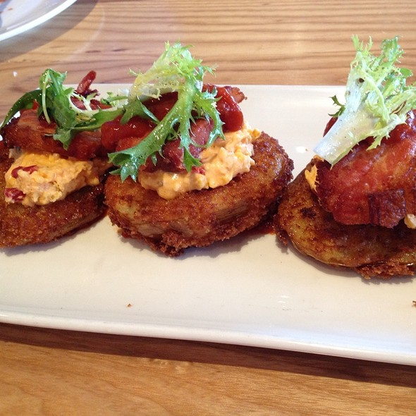 Fried Green Tomato BLT @ Yardbird