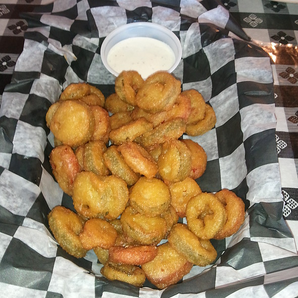 Fried Jalapeno  @ Blaze's BBQ