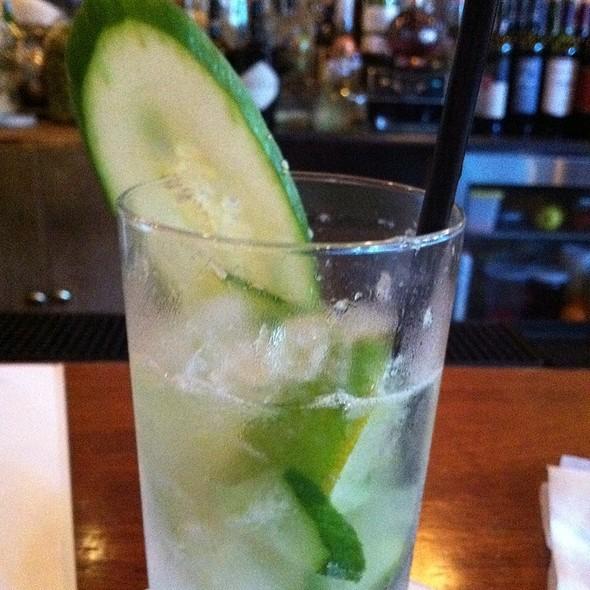 Cucumber Caipiroska @ LuxBar