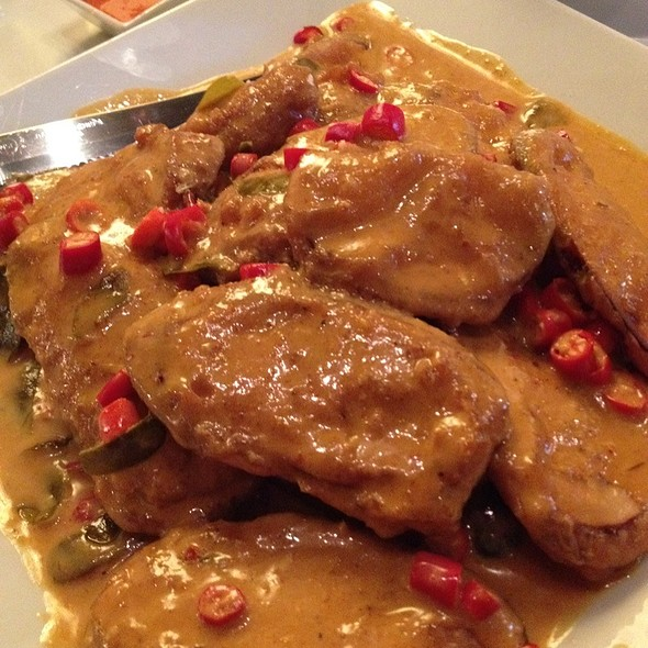 Eggplant Curry @ Thai Sweet Basil
