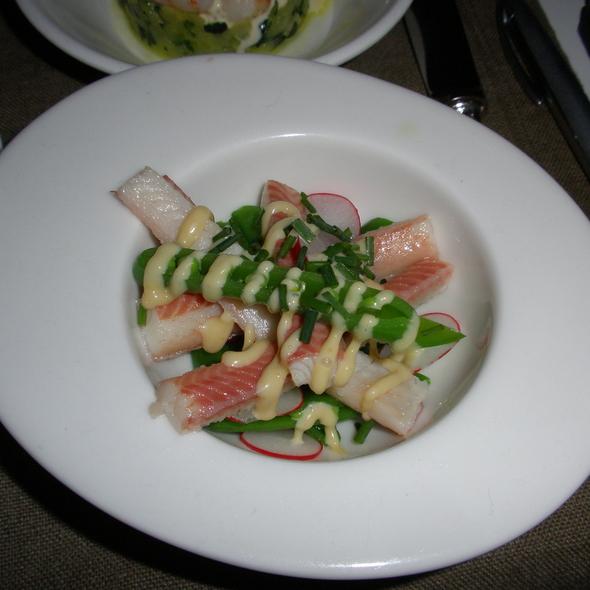 Eel, Green Asparagus, Radish @ Gin-Fish