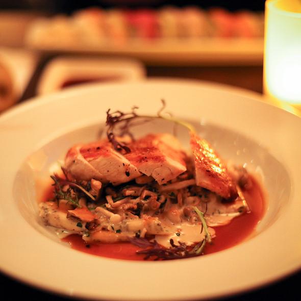 Roasted Petaluma Free Range Chicken @ Chaya Brasserie