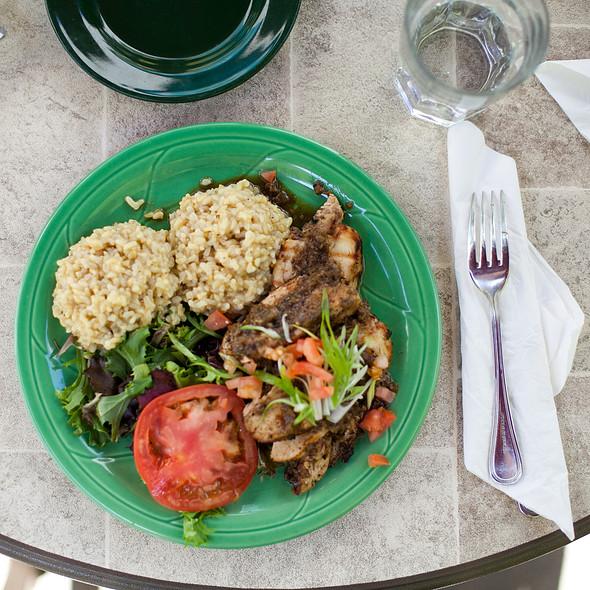 Slow Cooked Jerk Chicken @ Coconuts Caribbean Restaurant-Bar