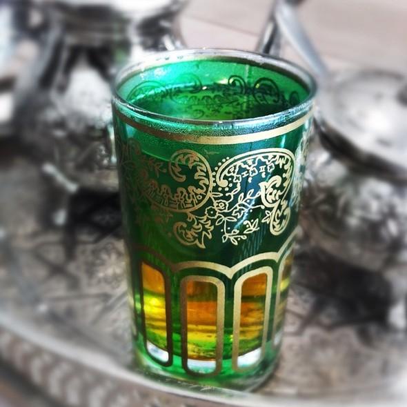 Moroccan Mint Tea @ The Pavilion Downtown Dubai